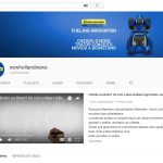 Canal corporativo pioneiro no Youtube