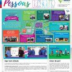 Publicação voltada ao público interno da Bosch Curitiba