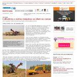 Notícia do site Automotive Business é resultado de press trip para as marcas da CNH Industrial