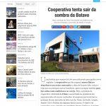Matéria sobre reposicionamento da Cooperativa Frísia no site da revista Época Negócios
