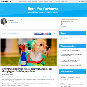 Evento do shopping pet friendly em blog