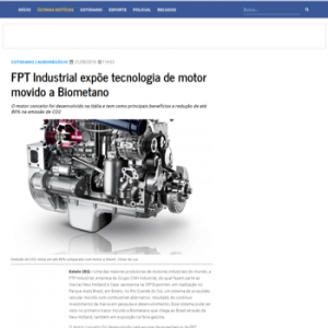 Resultado de ação de relações coma mídia para a marca de motores FPT Industrial