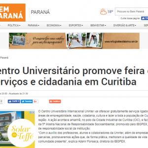 Uninter no Bem Paraná