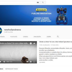 Canal corporativo pioneiro no Youtube